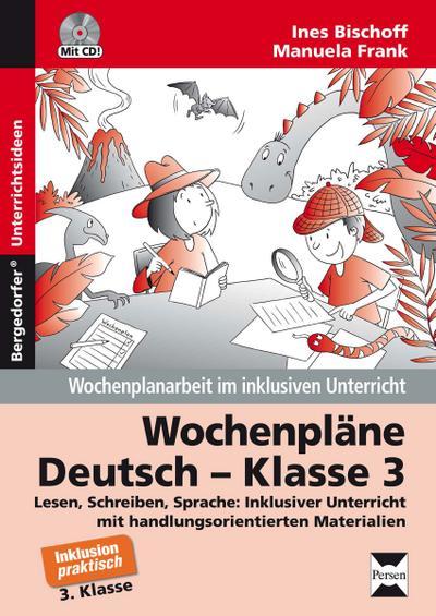 Wochenpläne Deutsch - Klasse 3