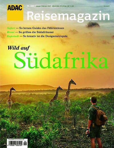 ADAC Reisemagazin Wild auf Südafrika