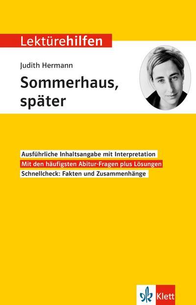 "Lektürehilfen Judith Hermann ""Sommerhaus, später"""