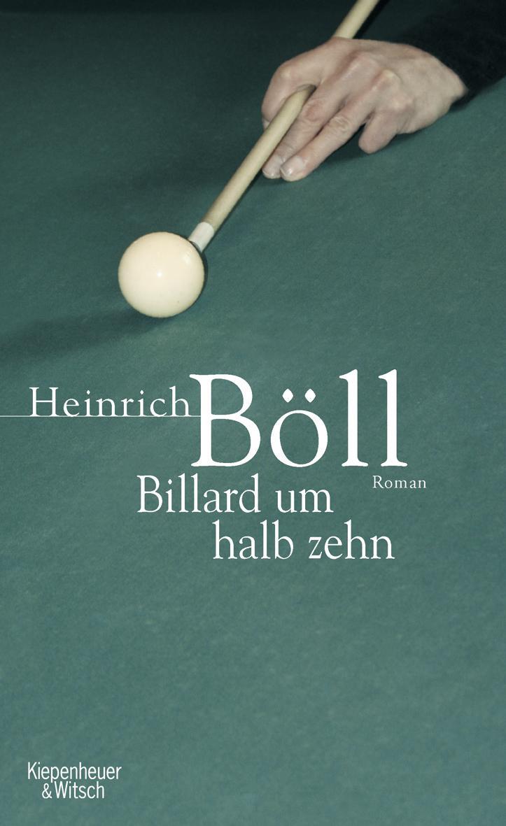 Billard um halb zehn Heinrich Böll