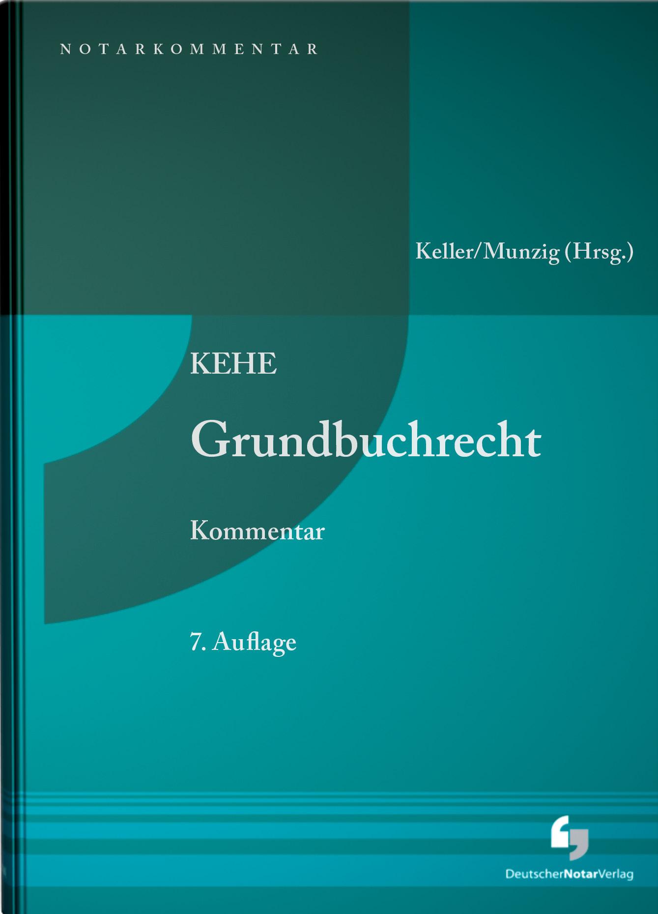 Grundbuchrecht - Kommentar: Vorauflagen erschienen bei De Gruyter Ulrich Mu ...