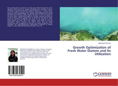 Growth Optimization of Fresh Water Diatom and Its Utilization