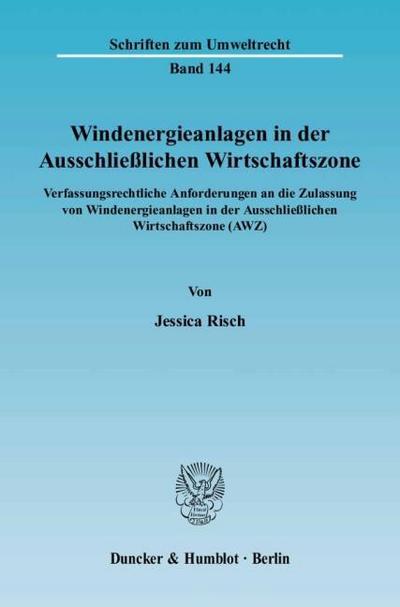 Windenergieanlagen in der Ausschließlichen Wirtschaftszone