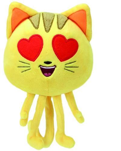 Emojis, Katze mit Herzaugen 15cm
