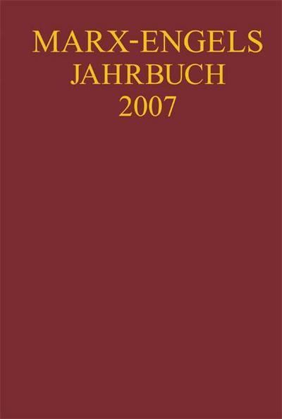 Marx-Engels-Jahrbuch 2007