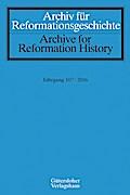 Archiv für Reformationsgeschichte - Aufsatzba ...