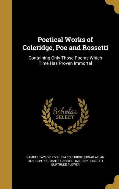 POETICAL WORKS OF COLERIDGE PO