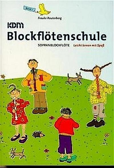 KDM Blockflötenschule, Band 1