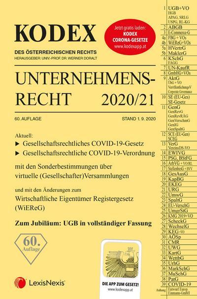 KODEX Unternehmensrecht 2020/21