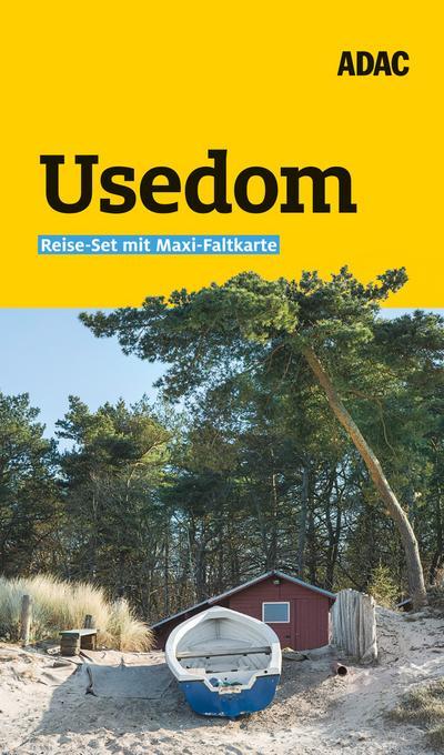 ADAC Reiseführer plus Usedom: mit Maxi-Faltkarte zum Herausnehmen