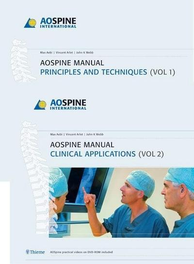 AO Spine Manual, 2 Vols., w. DVD-ROM
