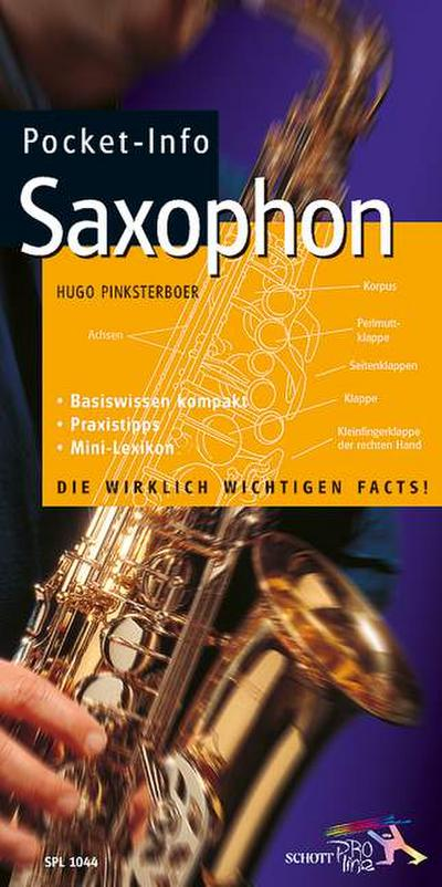 Pocket-Info, Saxophon