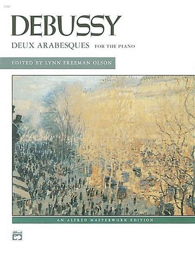 Debussy -- Deux Arabesques for the Piano
