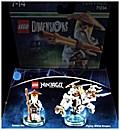 LEGO Dimensions, Fun Pack, Ninjago, Sensei Wu, 2 Figuren