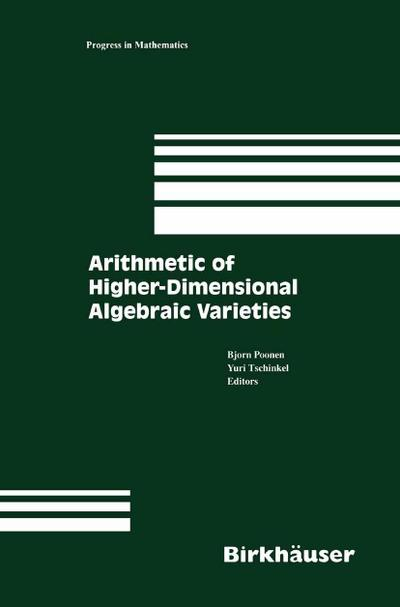 Arithmetic of Higher-Dimensional Algebraic Varieties