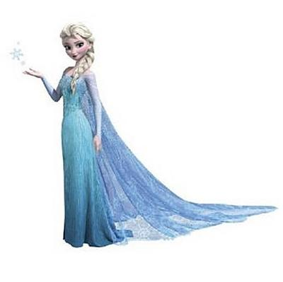 RoomMates - DISNEY Frozen Elsa glitzernd