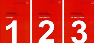 Adressbuch für den deutschsprachigen Buchhandel 2008/2009, 3 Bde.