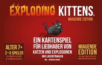 Exploding Kittens Miauende Edition