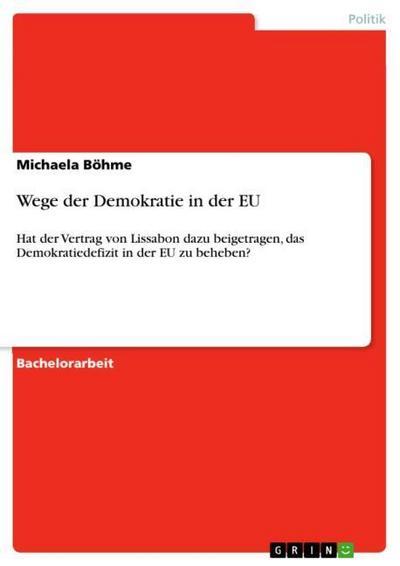 Wege der Demokratie in der EU