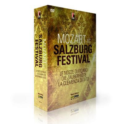 Mozart at Salzburg Festival, 6 DVDs