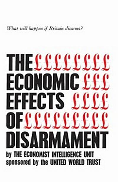 Economic Effects of Disarmament