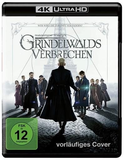 Phantastische Tierwesen: Grindelwalds Verbrechen 4K, 1 UHD-Blu-ray + 1 Blu-ray