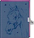 Tagebuch - Pferdefreunde - Mein Tagebuch (blau)