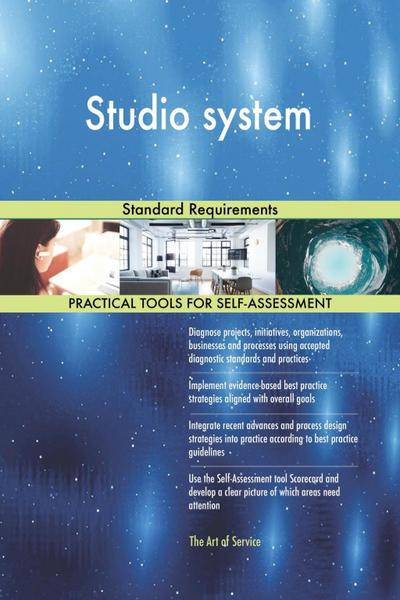 Studio system Standard Requirements