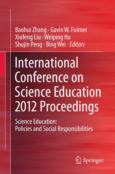 International Conference on Science Education 2012 Proceedings
