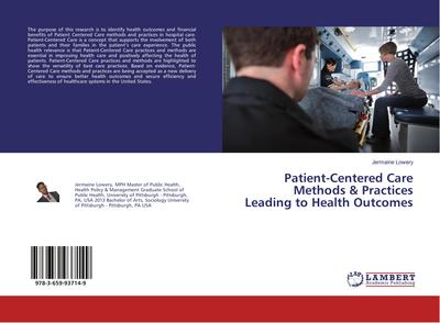Patient-Centered Care Methods & Practices Leading to Health Outcomes