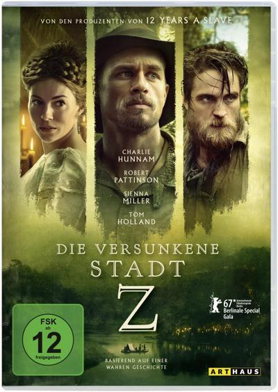 Die versunkene Stadt Z, 1 DVD