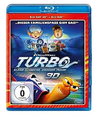 Turbo 3D, 2 Blu-ray