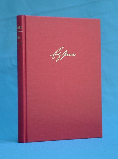Werke / Kleine Schriften II (1787-1817). Texte
