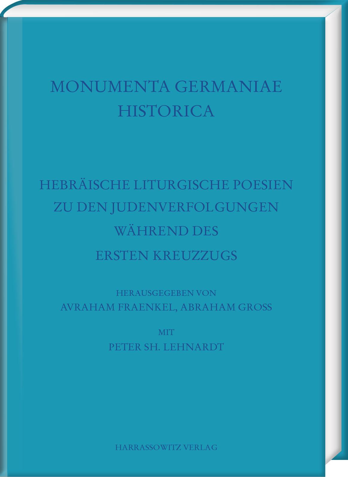 Hebräische liturgische Poesien zu den Judenverfolgungen während des Ersten  ...