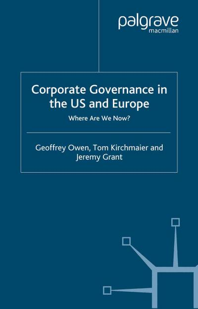 Corporate Governance in the US and Europe