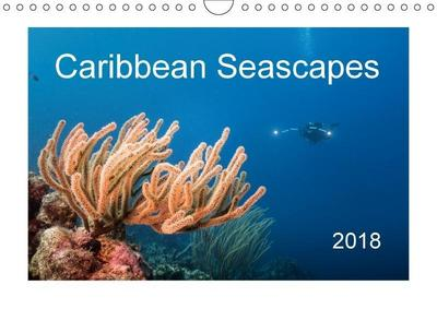 Caribbean Seascapes (Wall Calendar 2018 DIN A4 Landscape)