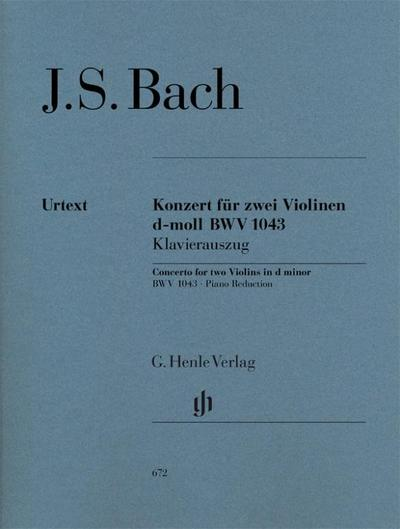 Konzert für 2 Violinen und Orchester d-moll BWV 1043