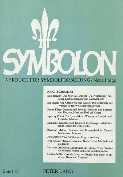Symbolon - Jahrbuch für Symbolforschung