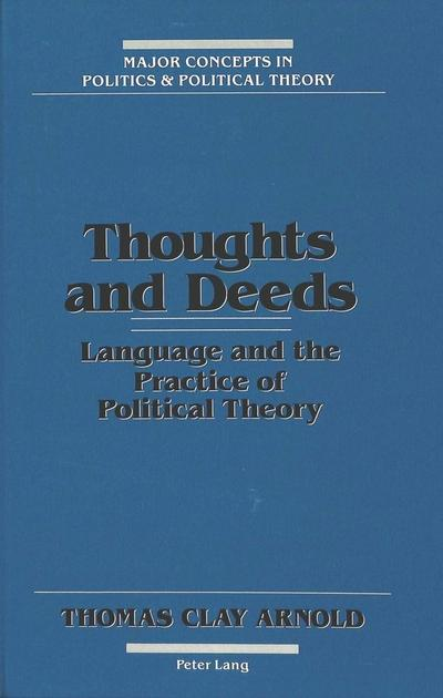 Thoughts and Deeds