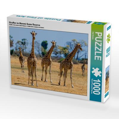Giraffen im Moremi Game Reserve (Puzzle)