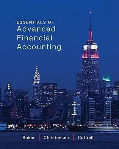 Essentials of Advanced Financial Accounting with Connect Access Card