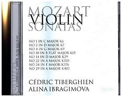 Sonaten für Violine und Klavier. Vol.2, 2 Audio-CDs
