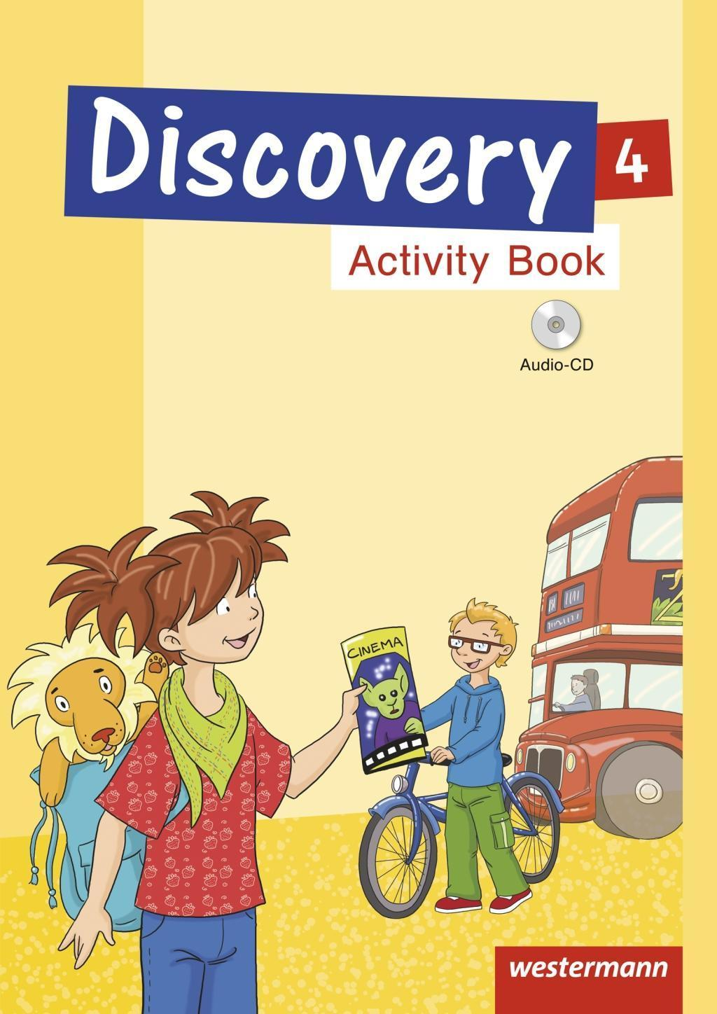 Discovery 4. Activity Book mit Audio-CD,