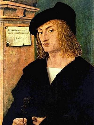 Hans Burgkmair d. Ä. - Porträt des Hans Schellenberger - 500 Teile (Puzzle)
