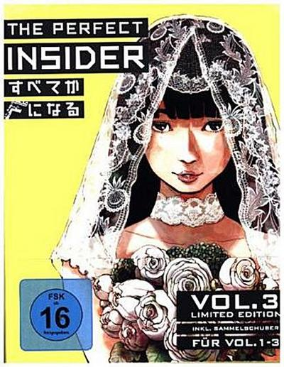 The Perfect Insider. Vol.3, 1 Blu-ray + Sammelschuber (Limited Edition)
