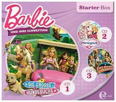 Barbie - Starter-Box Schwestern, 3 Audio-CDs