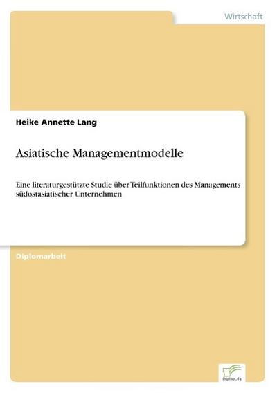 Asiatische Managementmodelle