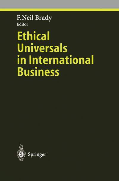 Ethical Universals in International Business