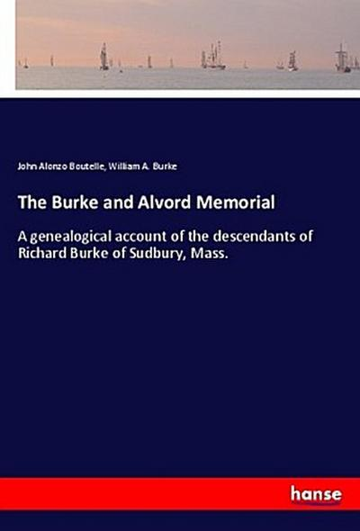 The Burke and Alvord Memorial