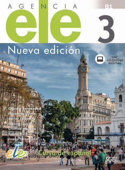 Agencia ELE 3 - Nueva edición. Kursbuch mit Code